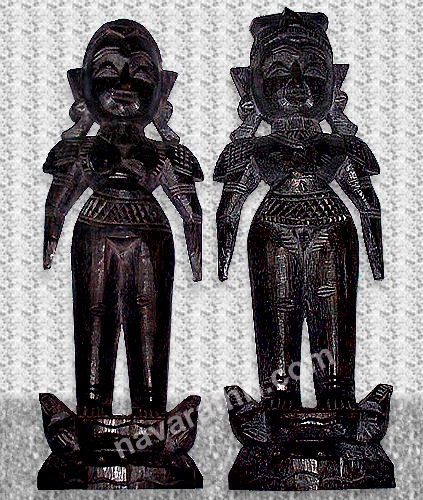Marappachi doll set (wood)
